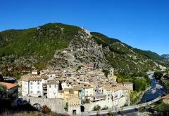 Fortifications et citadelle - Entrevaux et sa citadelle