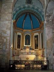 Eglise Notre-Dame-de-Romigier - Français:   Chapelle anexe de l\'église Notre Dame de Romigier, Manosque, France