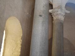 Baptistère dit le Panthéon (chapelle circulaire) - Deutsch: Baptistère de Riez Decke