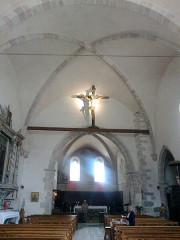 Eglise -  Alpes Haute Provence Saint-Paul Ubaye Eglise Nef