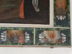 Eglise - Français:   Vignettes des quinze étapes mystères