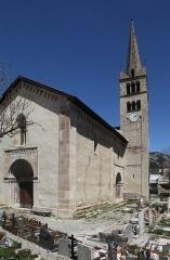Eglise -  Église Saint-Marcellin de Névache.