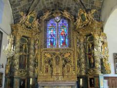 Eglise - Italiano: Saint Marcellin Nevache - main altar