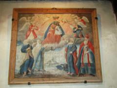 Eglise - Italiano: Saint Marcellin Nevache - inside painting