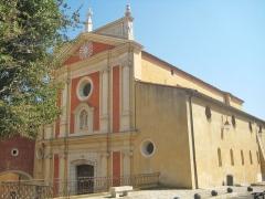 Eglise paroissiale, chapelle Saint-Esprit et tour Grimaldi -  Cathédrale Notre-Dame-de-la-Platea Antibes