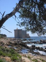 Château fort ou ancien monastère de Lérins - Deutsch: Fluchtburg der Mönche auf St.Honrat bei Cannes