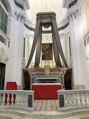 Ancienne abbaye de Saint-Pons, actuellement hôpital Pasteur - Français:   Le Maître autel