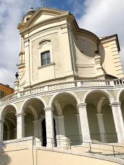 Ancienne abbaye de Saint-Pons, actuellement hôpital Pasteur - Français:   Du baroque.