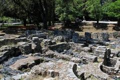 Thermes romains de Cimiez, dans le domaine de la villa Garin de Cacconata - English: Fouilles Archéologiques in Nice