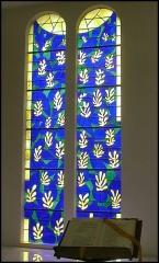 Chapelle des Dominicaines, dite aussi chapelle du Rosaire - English: Matisse, windows in Chapelle du Rosaire (Vence)