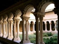 Cathédrale Saint-Sauveur - Cloître Saint-Sauveur à Aix-en-Provence (Bouches-du-Rhône, France)