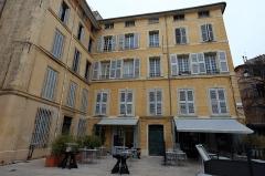 Hôtel d'Estienne de Saint-Jean, actuellement Musée du Vieil Aix - Façades de l'hôtel d'Estienne de Saint Jean de la Salle
