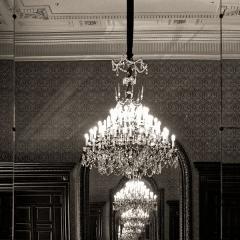 Palais de Justice - English: Jeu de reflets dans la salle du conseil du palais Verdun, cour d'appel d'Aix-en-Provence