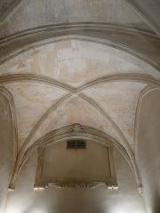 Archevêché - Arles (Bouches-du-Rhône, France), à l'est de la place de la République, palais archiépiscopal, chapelle, côté opposé au choeur.