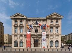 Hôtel de ville - English: Hotel de Ville, Marseille, August 2018