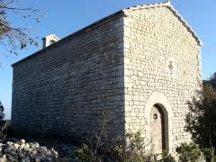 Chapelle Saint-André-de-Julhans - Français:   La chapelle Saint-André-de-Julhans, vue du nord-ouest.
