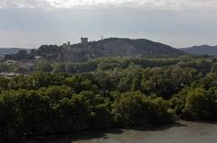 Château du Roi René -  View of Beaucaire and his castle.