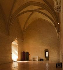 Château du Roi René -  Hall of the clock.