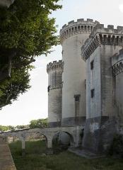 Château du Roi René -  East face of the fortress.
