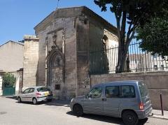 Hôpital Saint-Nicolas - English: Chapelle Notre-Dame de Bonne Aventure (Tarascon)