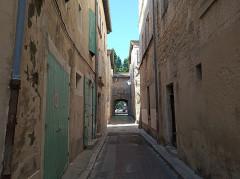Hôtel de ville - English: Porte Jarnègues, Tarascom