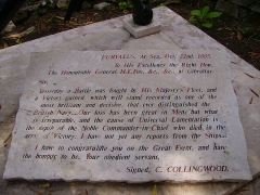 Eglise  et tour attenante -  Gravestone in Trafalgar Cemetery