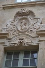Hôtel Crillon - façade de l'hôtel de Berton de Crillon à Avignon