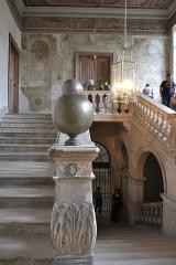 Hôtel Crillon - Escalier d'honneur de l'hôtel Berton de Crillon à Avignon