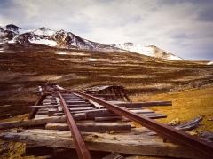 Eglise paroissiale Saint-Martin -  Big Thing mine near Carcross, Yukon