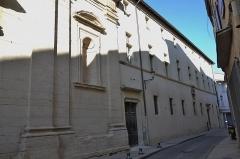 Collège de garçons - Français:   chapelle du collège des jésuites pour garçons à Carpentras