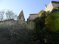 Eglise paroissiale Saint-Sauveur et Saint-Sixte -  Crestet