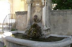 Fontaine publique -  Fountain in Lourmarin