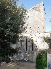 Ancienne abbaye Saint-Hilaire - Deutsch: Abbaye de Saint-Hilaire (Ménerbes) Chor Fenster
