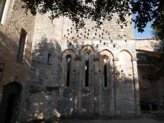 Ancienne abbaye Saint-Hilaire - Deutsch: Abbaye de Saint-Hilaire (Ménerbes) Chor