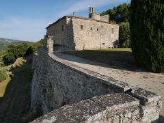 Ancienne abbaye Saint-Hilaire - Deutsch: Abbaye de Saint-Hilaire (Ménerbes) Ost
