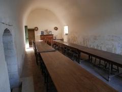 Ancienne abbaye Saint-Hilaire - Deutsch: Abbaye de Saint-Hilaire (Ménerbes) Refektorium