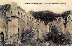 Chapelle Saint-Sixte - Français:   Choeur de l\'église neuve de Sorgues