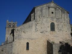 Ancienne cathédrale et cloître - Deutsch: Cathédrale Notre-Dame-de-Nazareth de Vaison Fassade