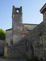 Ancienne cathédrale et cloître - Deutsch: Cathédrale Notre-Dame-de-Nazareth de Vaison Turm