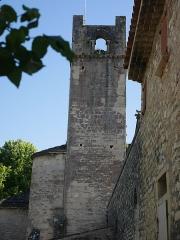 Ancienne cathédrale et cloître - Deutsch: Cathédrale Notre-Dame-de-Nazareth de Vaison Turmfries