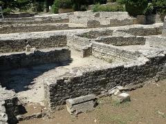 Site archéologique de la Villasse - English: Vaison-la-Romaine, ville du Vaucluse (France). Site archéologique.