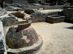 Terrains de fouilles gallo-romaines de la colline du Puymin (ensemble) -  Vaucluse Vaison-La-Romaine Ruines Romaines Maison Tonnelle