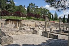 Terrains de fouilles gallo-romaines de la colline du Puymin (ensemble) -  Vaison