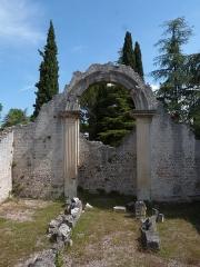 Thermes gallo-romains du Nord (vestiges) -  Vaison-la-Romaine: römisches Ausgrabungsfeld La Villasse
