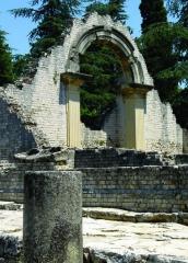 Thermes gallo-romains du Nord (vestiges) - Nederlands: Archeologische site La Villasse - Ie en IIe eeuw n.C. - te Vaison-la-Romaine, Vaucluse, Provence-Alpes-Côte d'Azur.