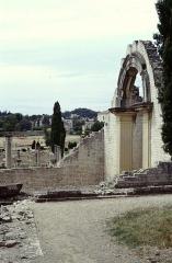 Thermes gallo-romains du Nord (vestiges) -  Vaucluse Vaison-La-Romaine La Villasse Thermes