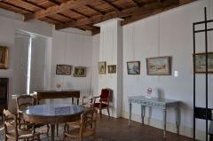 Hôtel de Simiane - Salle Robert Gourru au chateau de Simiane de Valréas