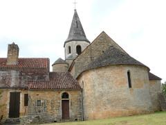 Eglise Saint-Pierre-ès-Liens - Français:   Loubejac - Eglise Saint-Pierre-ès-Liens - Chevet