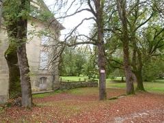 Château - Français:   Parc du château de Saint-Cyprien (Dordogne)