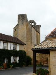 Eglise Saint-Pantaléon - L'église Saint-Pantaléon de Sergeac, Dordogne, France.